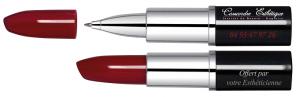 Stylo publcitaire en forme de rouge à lèvres