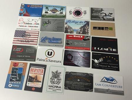 Dsormais Vous Avez La Possibilit De Faire Imprimer Vos Cartes Visite Et Les Recevrez Dans Lheure Qui Suit